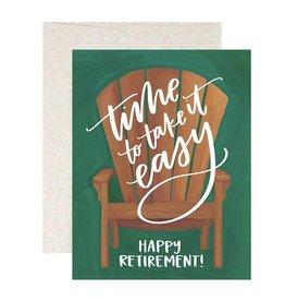 1Canoe2 Retirement chair card