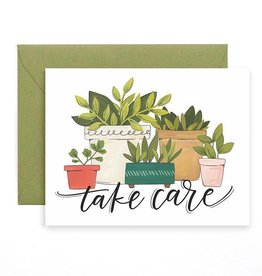1Canoe2 Take Care Plants Card