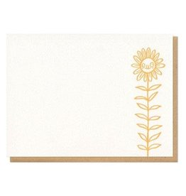Frog and Toad Derpy Flower Boxed Cards