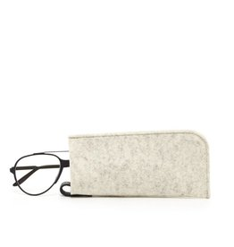 Graf Lantz Eyeglass Sleeve, Heathered White