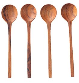 BE Home Teak Thin Spoons, Small