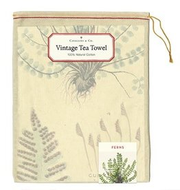 Cavallini Papers Ferns Tea Towel