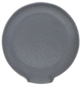 Now Designs Gray Glaze Spoon Rest
