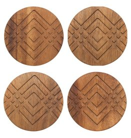 Now Designs Geo Facet Coasters