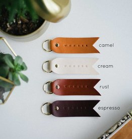 Twin Sparrow Explore Espresso Key Chain