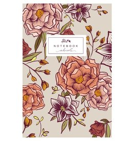 Twin Sparrow Abide Notebook