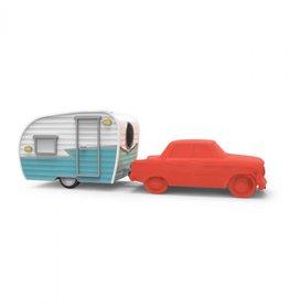 Fred Happy Camper Eraser & Sharpener