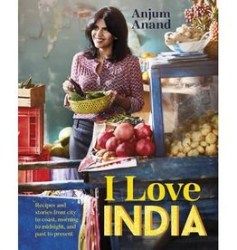 Hachette Book Group I Love India Cookbook
