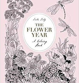 Hachette Book Group The Flower Year Coloring Book