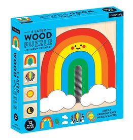 Hachette Book Group Rainbow Friends Wood Puzzle