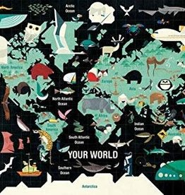 Hachette Book Group Map of the World