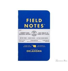 Field Notes County Fair 3 Pack - Oklahoma