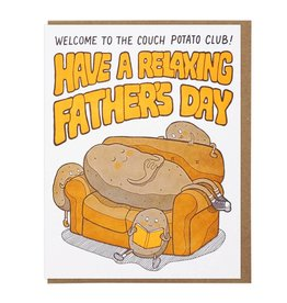 Lucky Horse Press Couch Potato Father's Day