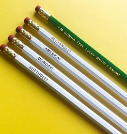 Calliope Paperie Ron Swanson Pencil Set