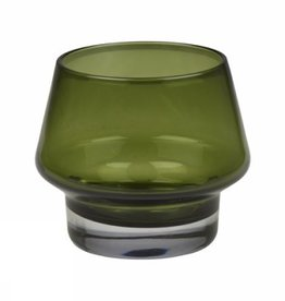 Eight Mood Kaso Candle Holder, Green