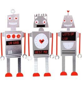 Meri Meri Robot Valentines