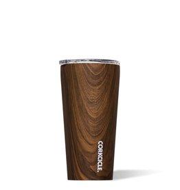 Corkcicle Walnut Wood Tumbler, 16 oz
