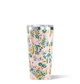 Corkcicle Gloss Pink Rifle Paper Tumbler, 16 oz.