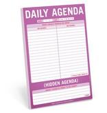 Knock Knock Pad: Daily/Hidden Agenda