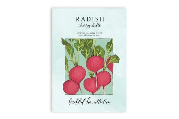 1Canoe2 Radish Seed