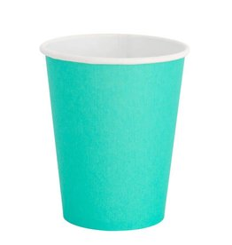 Oh Happy Day Teal Cups