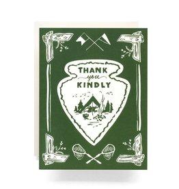Antiquaria Arrowhead Boxed Thank You