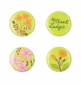 Seltzer Goods Plant Lady Magnet Set