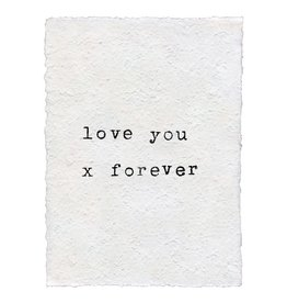 SugarBoo Designs Print - Love you X forever