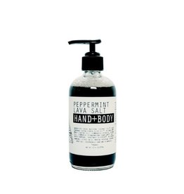 Moon Rivers Naturals Peppermint Mint Lava Salt Hand/Body Wash