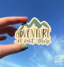 Jordyn Alison Adventure is Out There Sticker