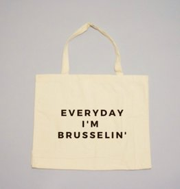 24 Carrot Co. Everyday I'm Brusselin' Tote