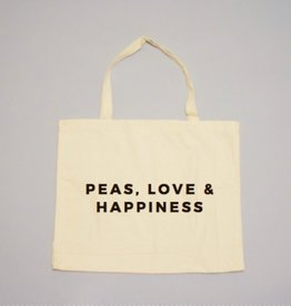 24 Carrot Co. Peas, Love & Happiness Tote
