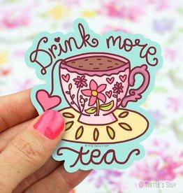 Turtle's soup Drink Tea Sticker