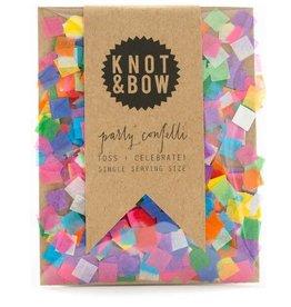 Knot and Bow Single Serve Confetti - Rainbow
