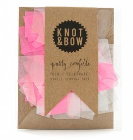 Knot and Bow Single Serve Confetti - Pink Mix
