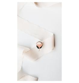 Hemleva Protea Enamel Pin