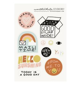 Worthwhile Paper Snail Mail Stickers