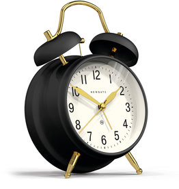 Newgate Clocks Brick Lane, Black/Brass
