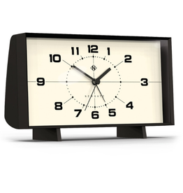 Newgate Clocks Wideboy Alarm, Black
