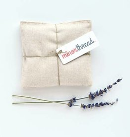 Minor Thread Lavender Sachets, Natural Linen