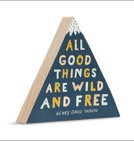 Compendium All Good Things Wooden Sign