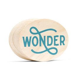 Compendium Wonder Wooden Sign