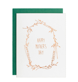 Underwood Press Mother's Day Garland Card