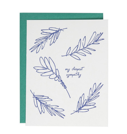 Underwood Press My Deepest Sympathy Card