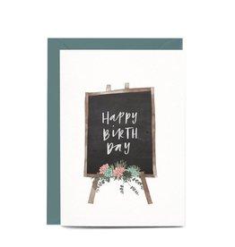 In the Daylight Birthday Blackboard Card