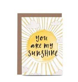 In the Daylight You are My Sunshine Card