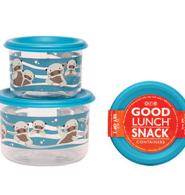 Ore Originals Baby Otter Snack Containers, Set/2
