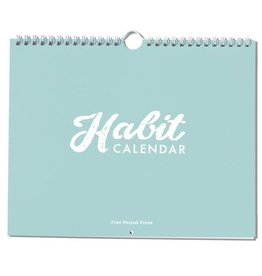 Free Period Press Habit Calendar