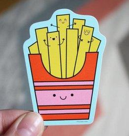 Free Period Press Fries Sticker