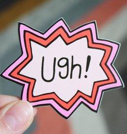 Free Period Press Ugh! Sticker